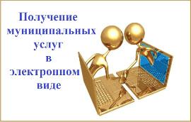 Муниципальные услуги в электронном виде